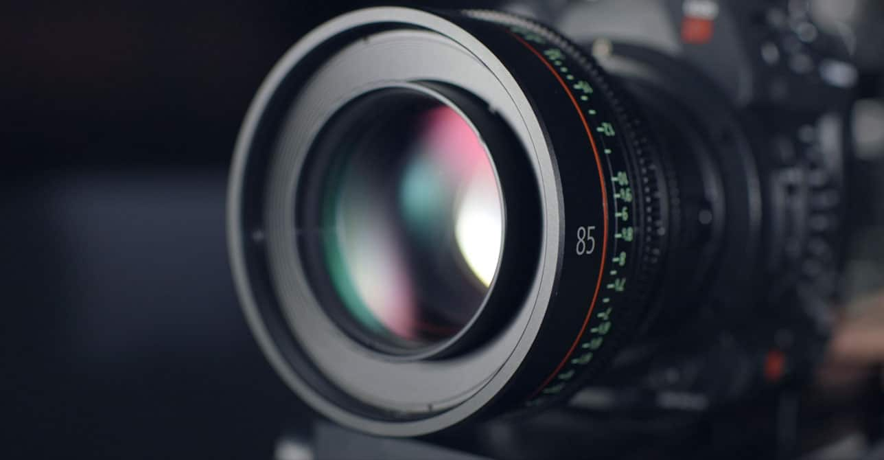 This is a picture of a camera lens.